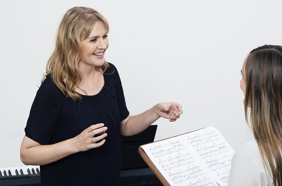 Christina Dahl - sanglærer
